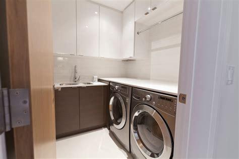 modernist house modern laundry room toronto
