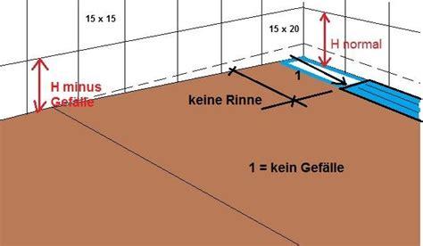 Begehbare Dusche Gefälle by Bodengleiche Dusche Keilf 246 Rmige Seitenfl 228 Che Durch