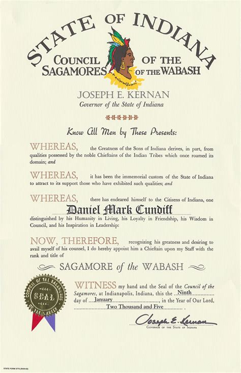 of the sagamore of the wabash