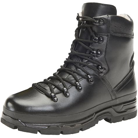 Army Semi Boot brandit bw mountain boots leather hiking tactical outdoor