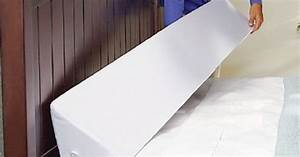 mattress wedge to keep pillows and phones from falling With bed wedge to keep pillows from falling