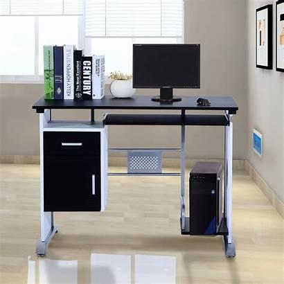 Computer Desk Office Homcom Laptop Pc Workstation