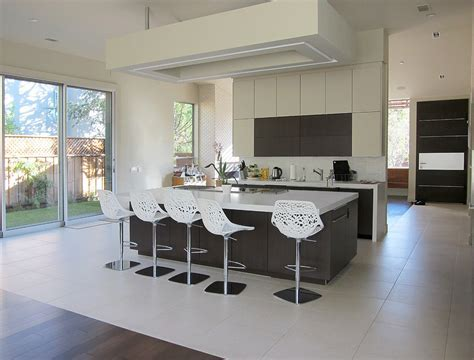 cool bar stools Kitchen Modern with breakfast bar indoor