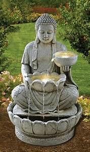 Fontaine Circuit Fermé : superbe statue de bouddha zen jardin 73 cm pas cher ~ Premium-room.com Idées de Décoration
