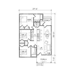 cottage floor plans small home design carolinian i bungalow floor plan tightlines designs free bungalow house designs and
