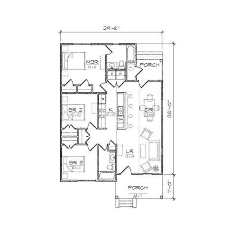 create house floor plan home design carolinian i bungalow floor plan tightlines