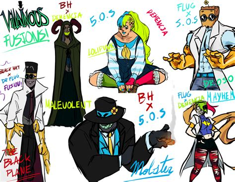 Villainous Fusions By Accecakes On Deviantart