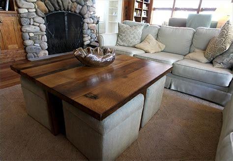 table basse avec pouf integre yli tuhat ideaa table basse avec pouf pinterestiss 228