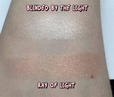 too faced ray of too faced love light prismatic highlighters review