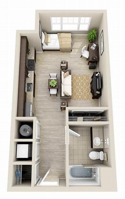 Studio Apartment Layout Plans Floor Plan Garage