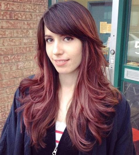 Hairstyles For Hair With Bangs And Layers by 50 Layered Haircuts With Bangs 2019