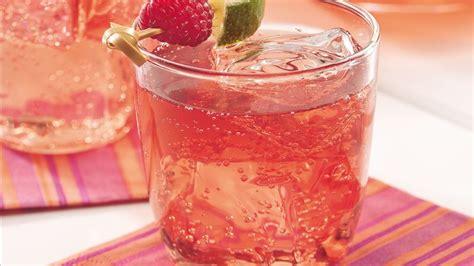 sparkling raspberry tea recipe bettycrockercom