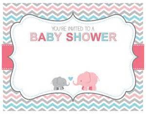 Baby Shower Elephant Clip Art Vector