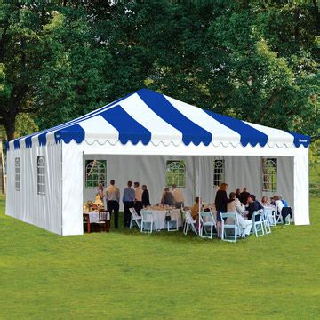 party tent    enclosed  windows