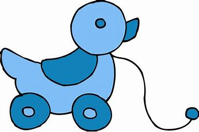 Clipart Toy Ducky Clip Boy Toys Rolling