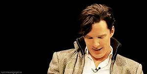Benedict Cumberbatch Smile GIF - Find & Share on GIPHY