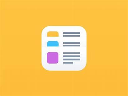 Icon App Dribbble Flat Branding