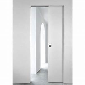 installer une porte coulissante maison design bahbecom With installer une porte a galandage