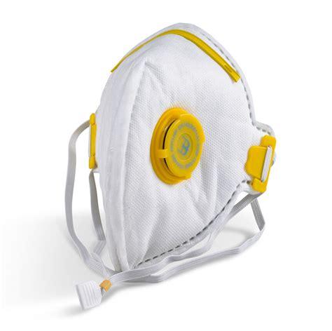 flat fold p valved face mask valve respirator dust