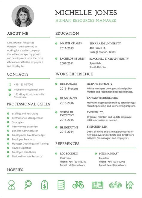 Resume Format Exles For by Resume Template 55 Free Word Excel Pdf Psd Format