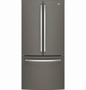 Ge Appliances Gne25jmkes 24 8 Cu  Ft  French Door