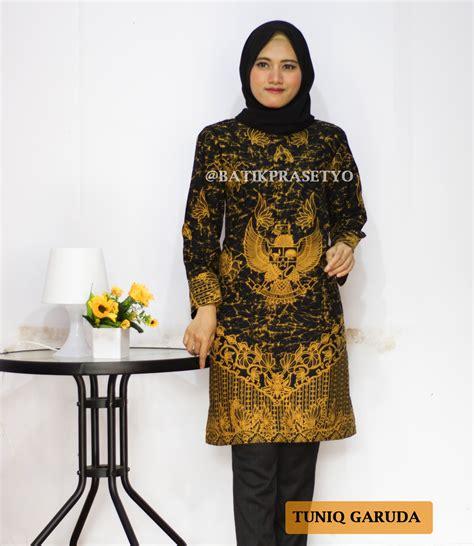 dress batik wanita terbaru tuniq garuda