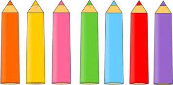 classmates pen colored pencils clip colored pencils image