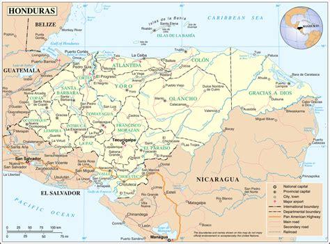 geography  honduras wikipedia