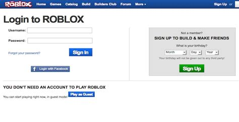 roblox login robloxcom  games account