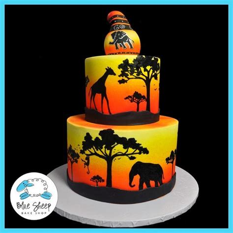 jungle themed cakes  cupcakes wild inspiration