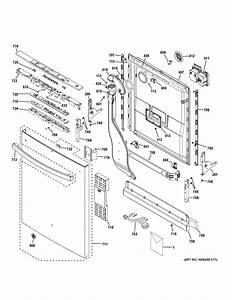 Ge Model Gdt580sgf0bb Dishwasher Genuine Parts