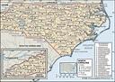 Printable Map Of North Carolina Cities | Printable Maps