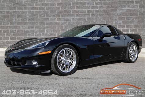 chevrolet corvette coupe  vortec supercharged hre wheels envision auto calgary