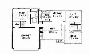 simple small house floor plans 3 bedroom simple small With small house 3 bedroom floor plans