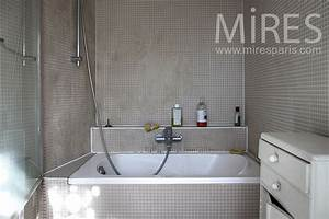 Salle de bains baignoire sabot C0835 Mires Paris