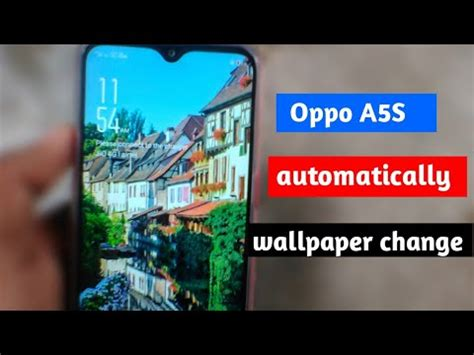 oppo  automatically wallpaper change oppo