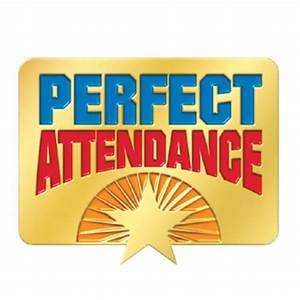 Perfect Attendance Starburst Design Lapel Pin | Positive ...