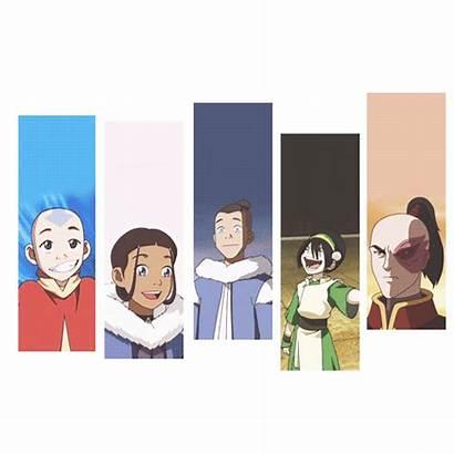 Avatar Airbender Last Aang Toph Korra Katara