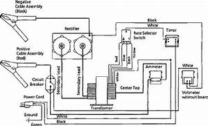 Schumacher battery charger wiring diagram schumacher for Battery charger circuit diagram likewise dayton battery charger wiring