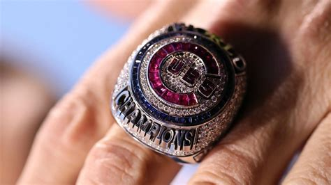cubs address world series ring agreements hall  fame
