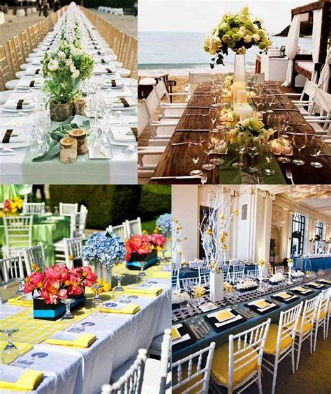 wedding decor choose rectangular table weddings on the