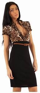 New Womens Ruffle Chiffon Blouse Pencil Skirt 2 In 1 Business Wear Party Dress | eBay