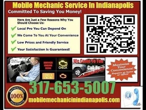 mobile mechanic  indianapolis indiana auto car repair