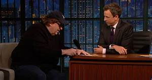 """Michael Moore Urges Angry White Men to """"Give Up"""" - Then ..."""
