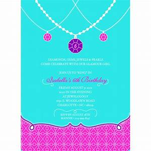 Party invitations how to create jewelry party invitation for Premier jewelry party invitations