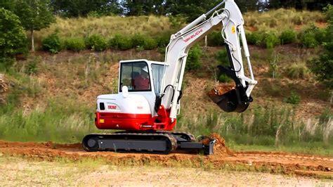 takeuchi tb tier  final compact excavator youtube
