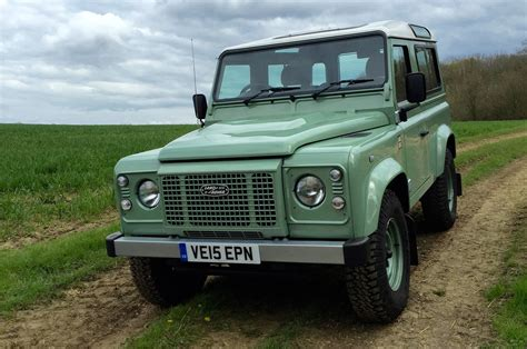 defender land rover 2016 land rover defender 90 heritage review