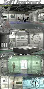 Scifi Apartment By 3