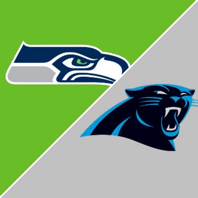 seahawks  panthers game summary december