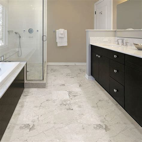 Groutable Vinyl Tile Marble by Home Depot Charcoal And Home On